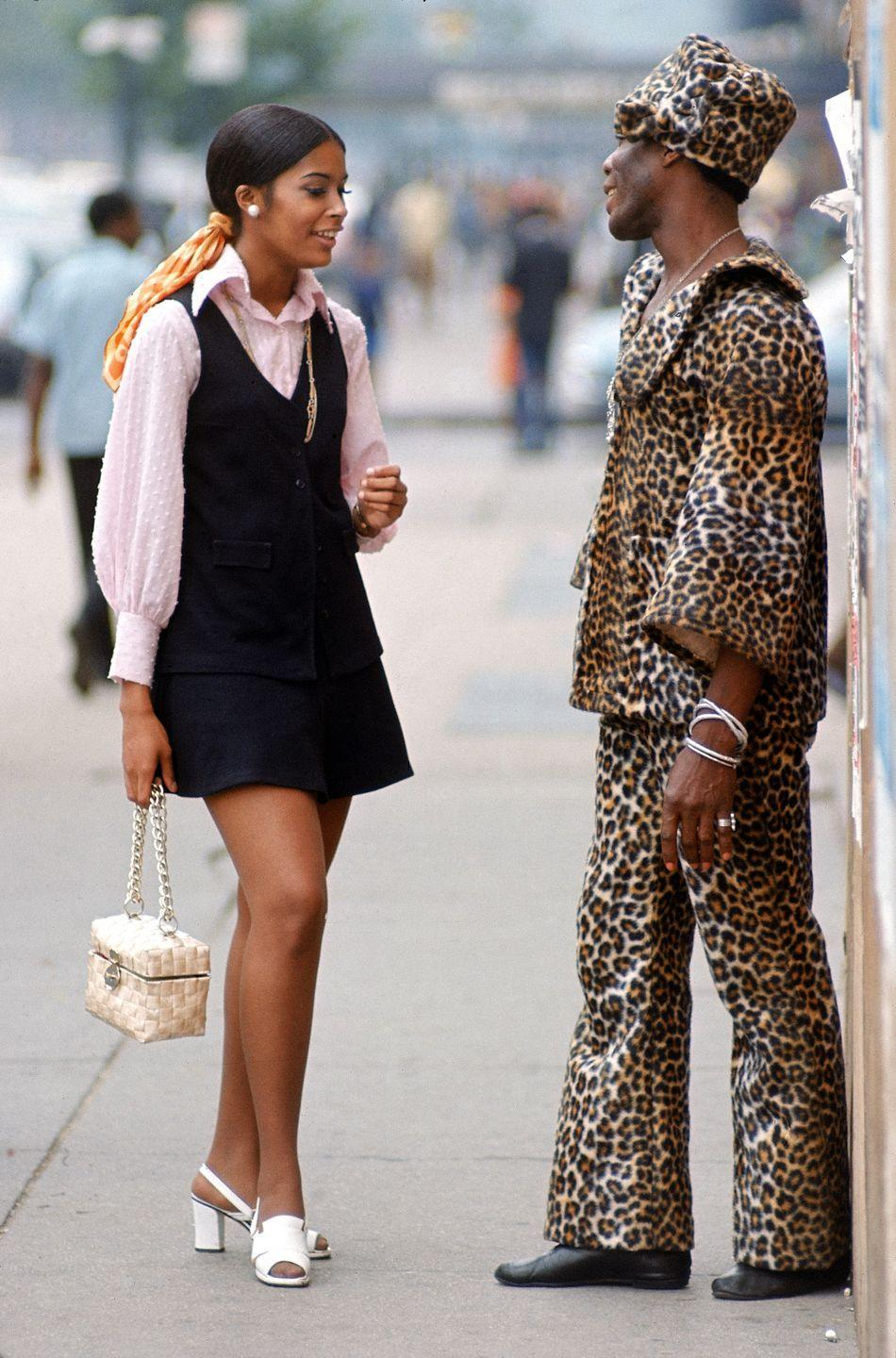 <p>In the '70s, the miniskirt evolved into the jumper dress, preferably worn over a turtleneck or button-down blouse. </p>