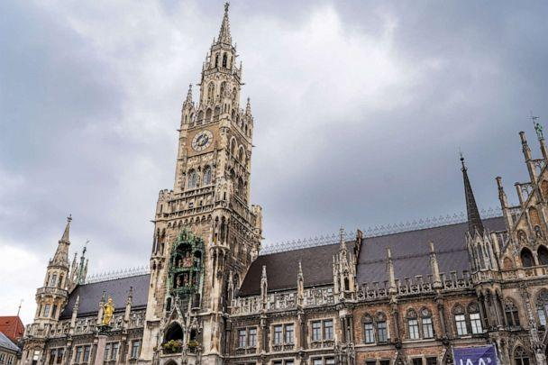 PHOTO: The new town hall stands in Munich. (Miguel Florencio/ABC News)