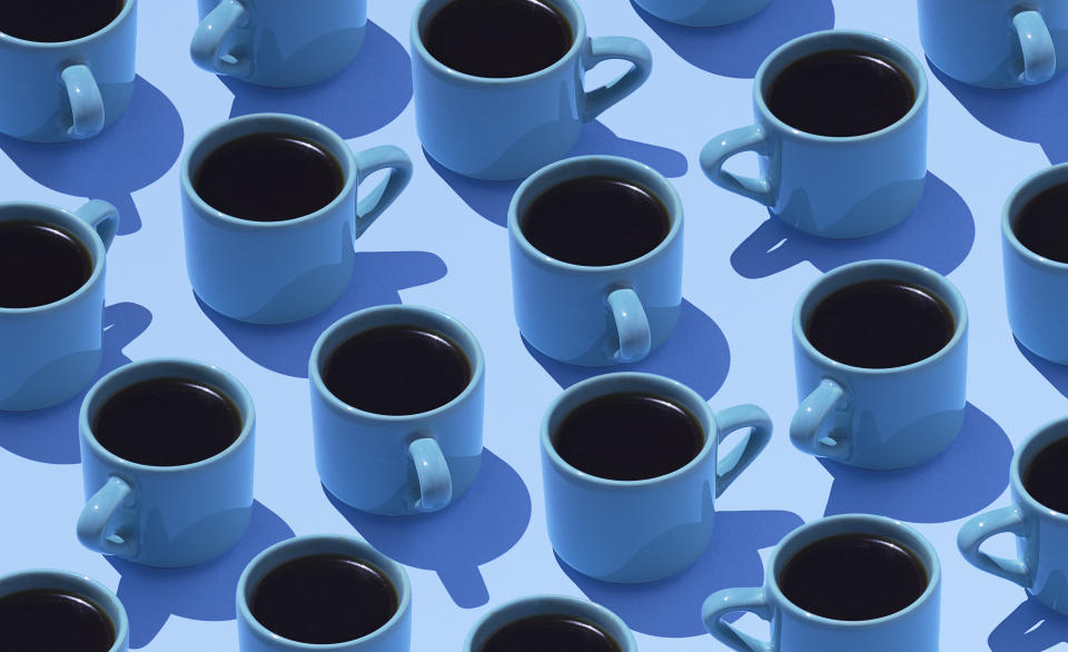 Brits are drinking 25 million more cups than we were in 2008 [Photo: Getty]