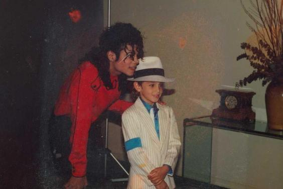 Michael Jackson with Wade Robson, one of his accusers (Sundance Insitute)