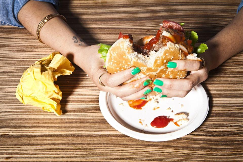 <p>Taking a bite out of another person's hamburger will not be tolerated in the state of Oklahoma, which is something we can definitely get behind—that's just plain rude.</p>