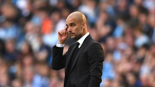 Manchester City are still gaining the experience they need to be able to compete with Europe's top teams, says manager Pep Guardiola.