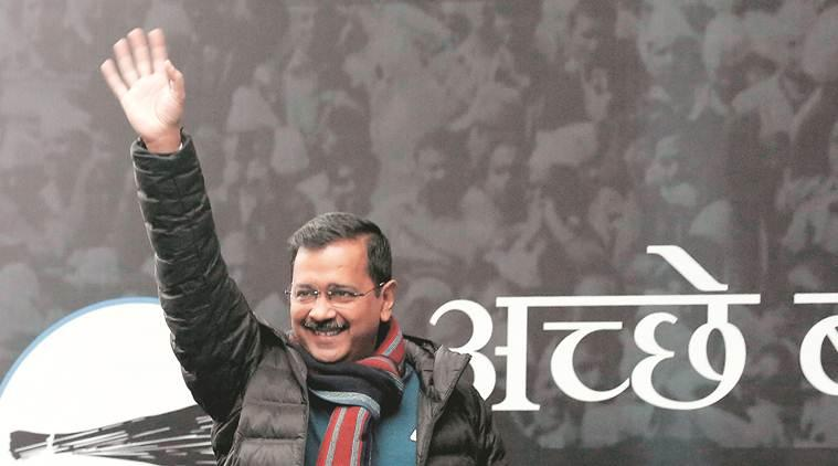 Vote for schools, hospitals, not for a party: Arvind Kejriwal