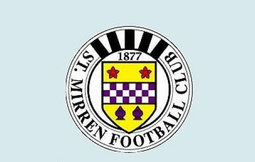 St. Mirren Football Club logo. Dundee United and St Mirren top the Scottish Premier League after the pair shared the points in a 1-1 draw at Tannadice on Saturday