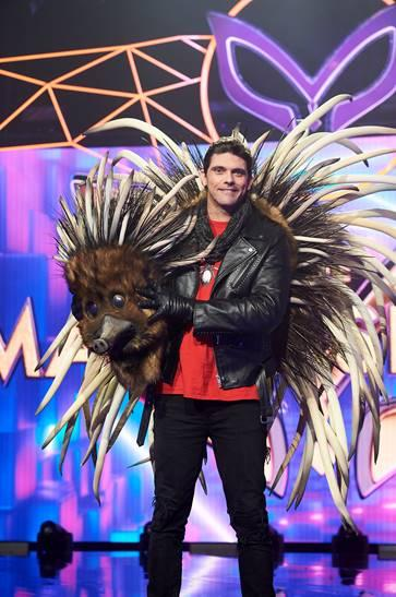 The Echidna was unmasked as tennis legend Mark Philippoussis in episode one of The Masked Singer 2020