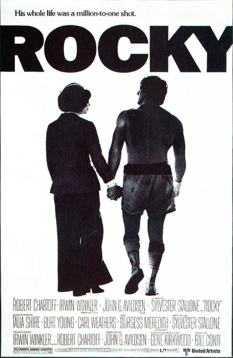 The poster that features an image from the original ending