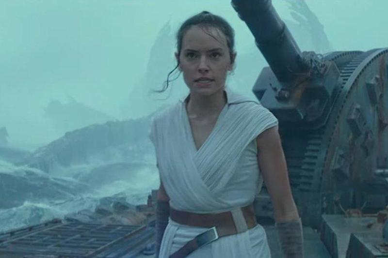 She stars as Rey in the current Star Wars trilogy (Disney)
