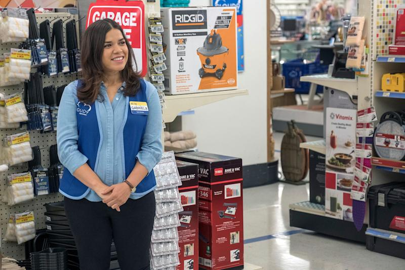 """America Ferrera is leaving NBC's """"Superstore,"""" but the show's season finale hasn't been filmed. Will there be loose ends to tie up later?"""