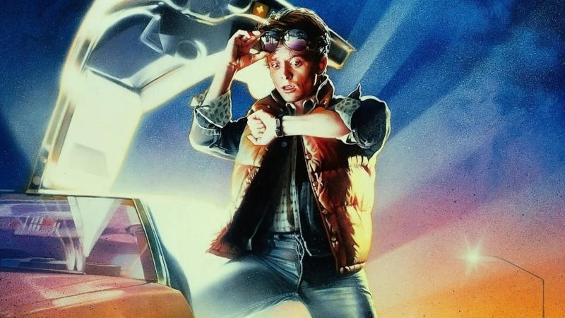 Michael J. Fox as Marty McFly in 'Back to the Future'. (Credit: Universal)