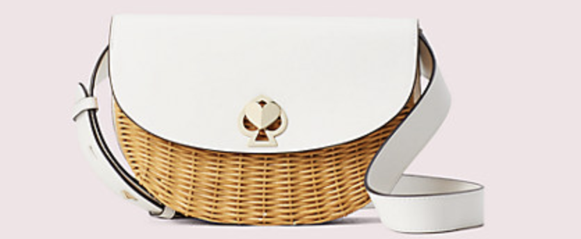 PHOTO: Kate Spade. Nicola Wicker Twistlock Medium Sling Bag