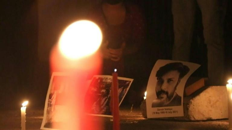 Vigil held for Indian Reuters photographer killed in Afghanistan