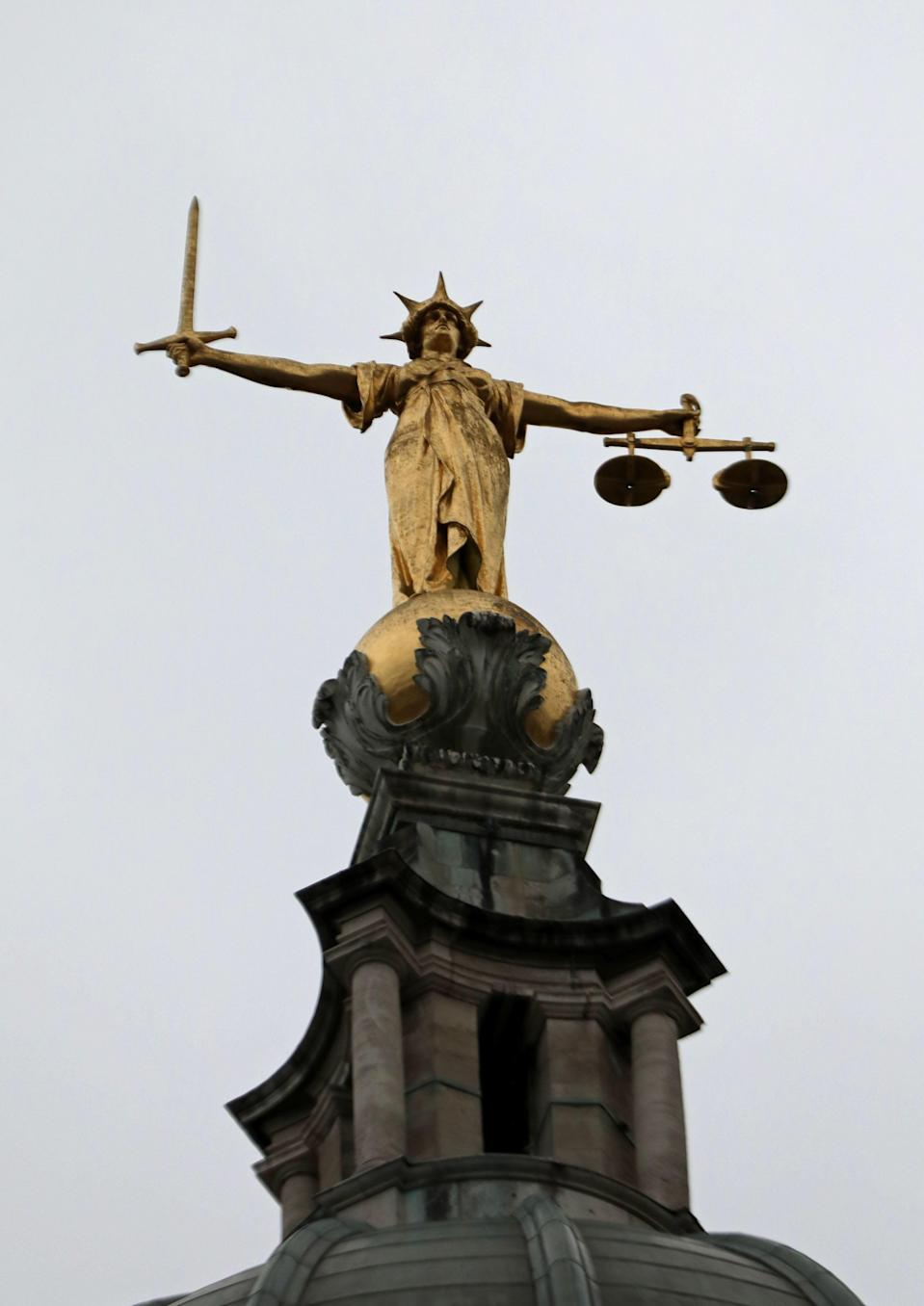 Scales of justice (PA Wire)