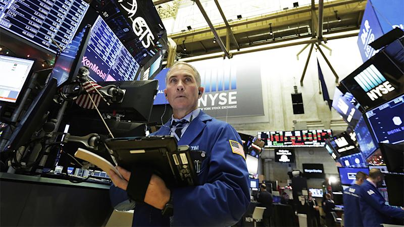 Stocks drift up and down in tentative trading on Wall Street