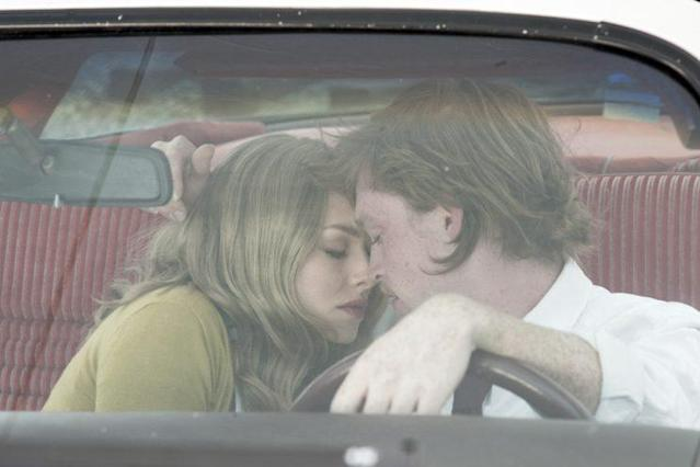 Amanda Seyfried and Caleb Landry Jones in a still from Twin Peaks. Photo: Suzanne Tenner/SHOWTIME