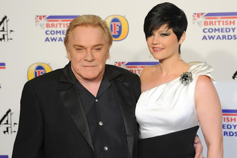 LONDON, UNITED KINGDOM - DECEMBER 16: Freddie Starr and Sophie Lea attend the British Comedy Awards at Fountain Studios on December 16, 2011 in London, England. (Photo by Stuart Wilson/Getty Images)