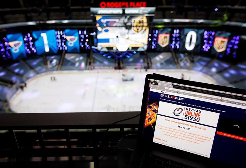 'Caught up in the frenzy:' Oilers 50/50 draw breaking ticket sale records