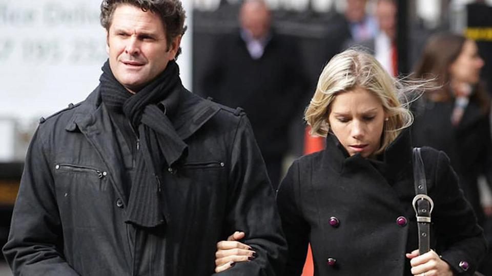 Chris Cairns and Melanie Cairns