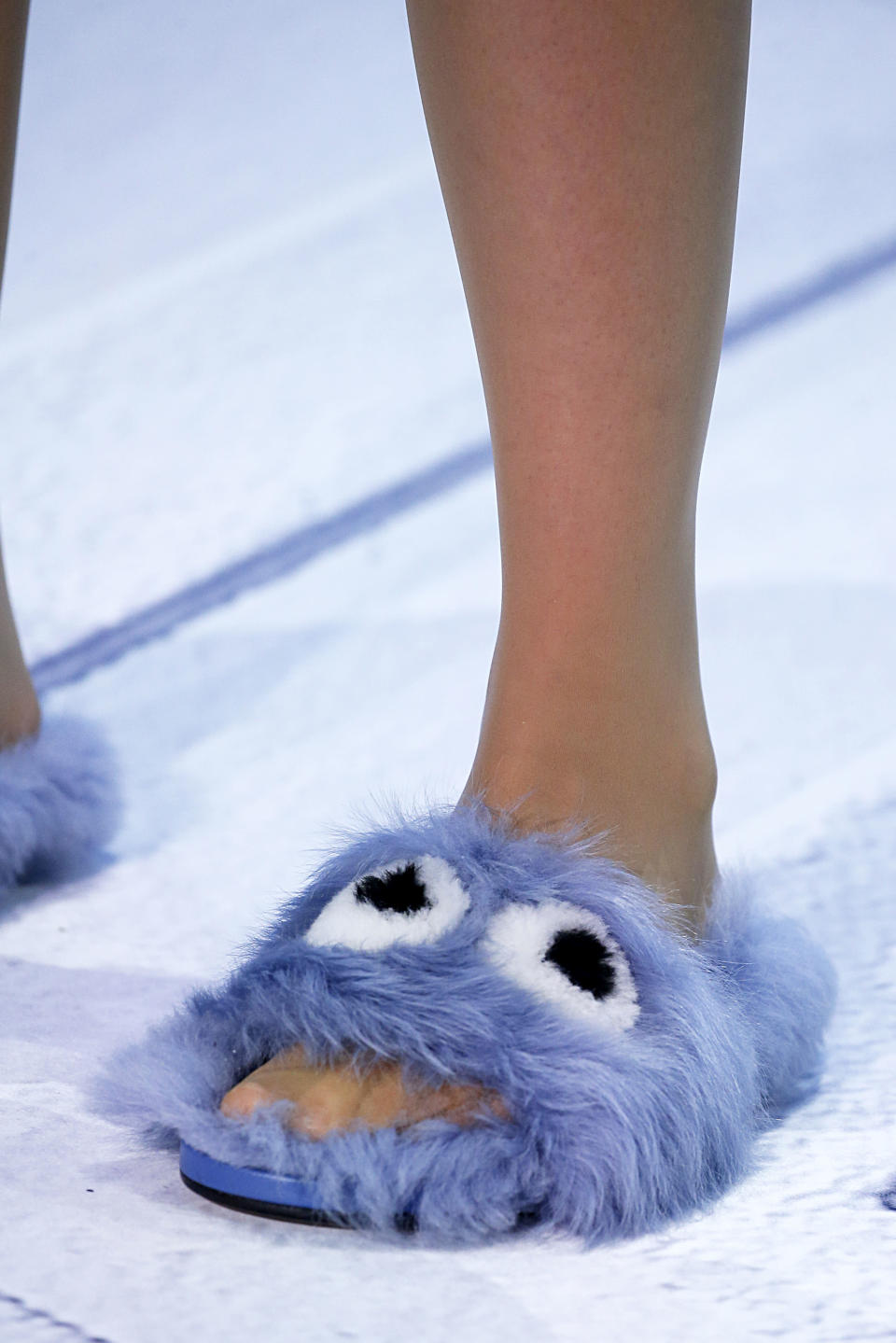 Fur accessories are also big business in the fashion industry [Photo: Anya Hindmarch via Getty]
