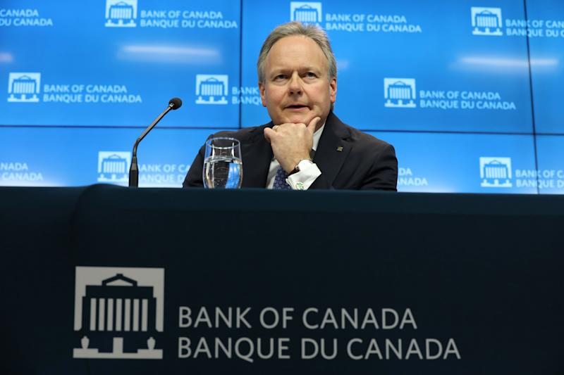 Bank of Canada Governor Stephen Poloz listens to a question during a news conference in Ottawa, Ontario, Canada, January 9, 2019. REUTERS/Chris Wattie
