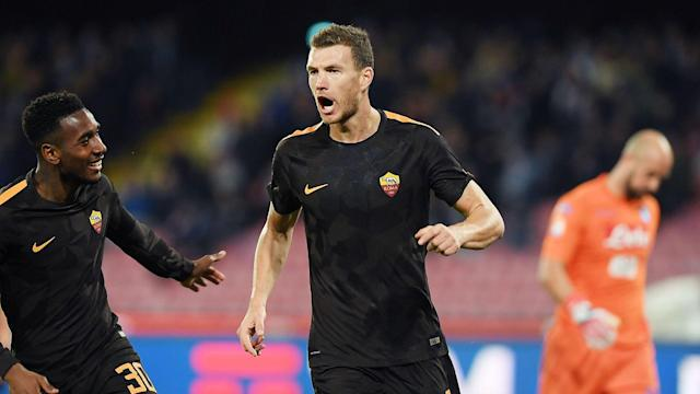 Roma's Edin Dzeko was the subject of an offer and negotiations from Chelsea but is re-focused on Serie A and Champions League commitments.