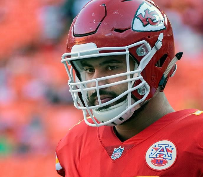 Canadian Laurent Duvernay-Tardif didn't need long to get into Super Bowl mode