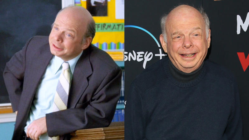 Wallace Shawn in 'Clueless' and in 2020. (Credit:)Wallace Shawn in 'Clueless' and in 2020. (Credit: Paramount/CBS/Getty Images/Jean Baptiste Lacroix/WireImage)