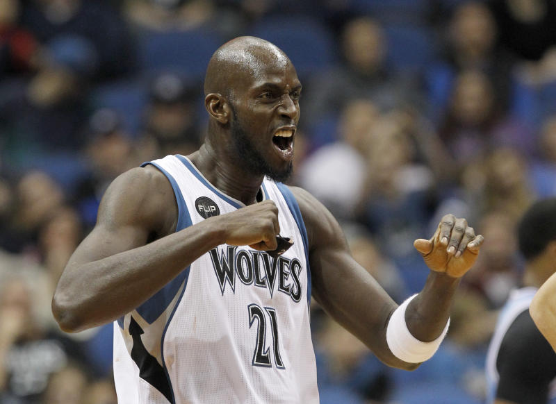 Glen Taylor is reportedly selling, and Kevin Garnett wants to buy. (AP Photo/Ann Heisenfelt)