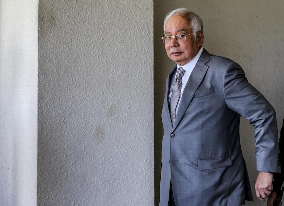 Datuk Seri Najib Razak said, 'We have to accept the fact that the president has the power to decide on the debaters'. — Picture by Firdaus Latif