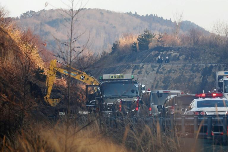 No significant damage was reported in the earthquake off Japan's Fukushima region although authorities are assessing the impact of a landslide on a highway