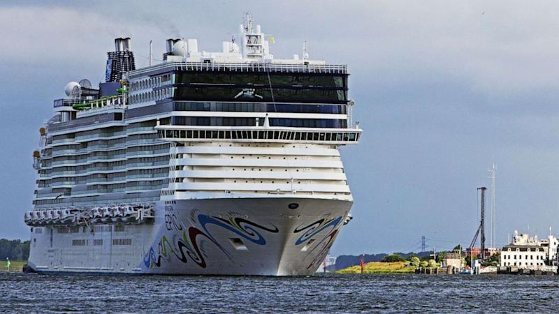 Woman believed drowned after falling off cruise-liner in Mediterranean