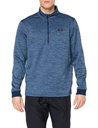 """<p><strong>Under Armour</strong></p><p>amazon.com</p><p><a href=""""https://www.amazon.com/dp/B07CZCYNT9?tag=syn-yahoo-20&ascsubtag=%5Bartid%7C2164.g.36124040%5Bsrc%7Cyahoo-us"""" rel=""""nofollow noopener"""" target=""""_blank"""" data-ylk=""""slk:Shop Now"""" class=""""link rapid-noclick-resp"""">Shop Now</a></p><p>They'll be toasty and warm on those cooler summer nights with this half--zip fleece. And if you're not a fan of the blue, there are several other colors to choose from.</p>"""