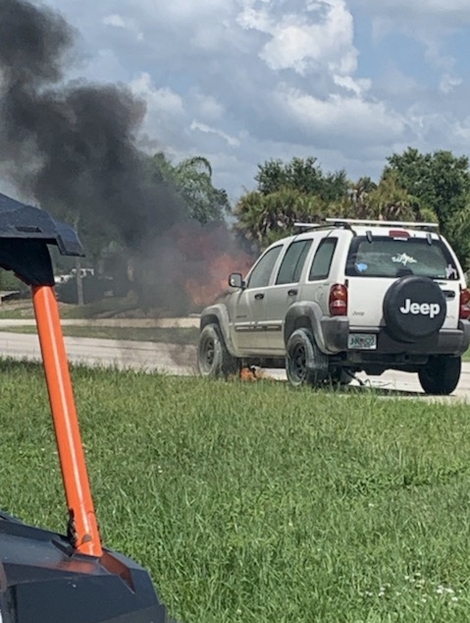 Two teens' car exploded, but their bible survived the fire unscathed (Credit: Sevyn Shock)