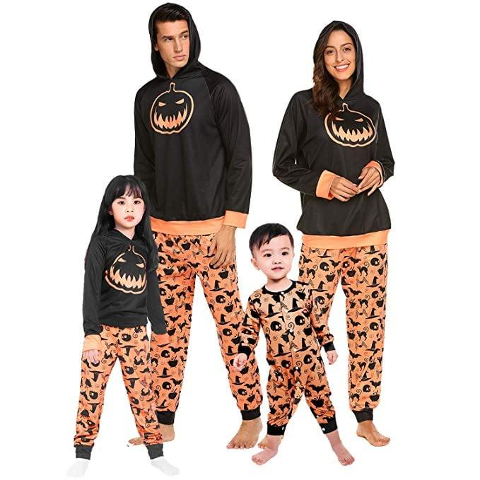 "<p>Chilly nights call for these cute <a href=""https://www.popsugar.com/buy/Teeker-Halloween-Family-Pajama-Set-Costumes-481717?p_name=Teeker%20Halloween%20Family%20Pajama%20Set%20Costumes&retailer=amazon.com&pid=481717&price=38&evar1=moms%3Aus&evar9=46515148&evar98=https%3A%2F%2Fwww.popsugar.com%2Fphoto-gallery%2F46515148%2Fimage%2F46515168%2FTeeker-Halloween-Family-Pajama-Set-Costumes&list1=shopping%2Camazon%2Cpajamas%2Challoween%2Cmatching%20outfits&prop13=api&pdata=1"" rel=""nofollow"" data-shoppable-link=""1"" target=""_blank"" class=""ga-track"" data-ga-category=""Related"" data-ga-label=""https://www.amazon.com/Teeker-Halloween-Costumes-Macthing-Sleepwear/dp/B07HF41183/ref=sr_1_1?crid=2CFGPSX62HUSQ&amp;keywords=matching%2Bhalloween%2Bpjs&amp;qid=1566241081&amp;s=gateway&amp;sprefix=matching%2Bhallow%2Caps%2C121&amp;sr=8-1&amp;th=1"" data-ga-action=""In-Line Links"">Teeker Halloween Family Pajama Set Costumes</a> ($38).</p>"