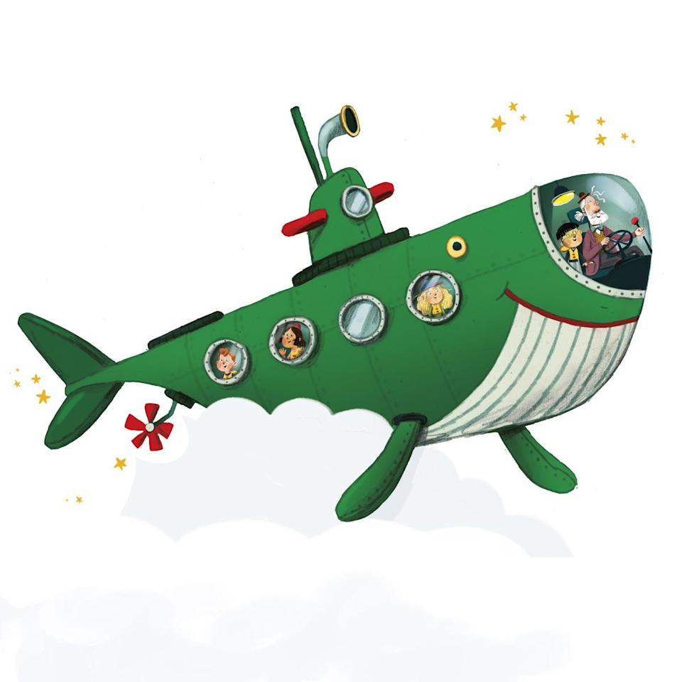 Sir Paul's picture book Grandude's Green Submarine will be released in September 2021 (© MPL Communications)