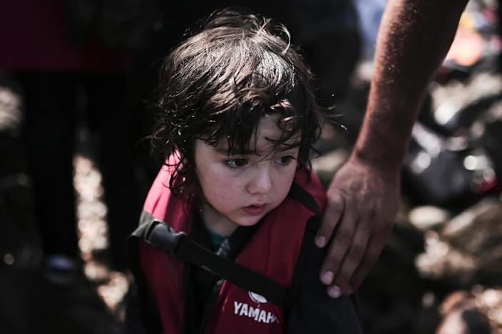 US President Barack Obama has promised that the United States will admit 10,000 Syrian refugees for resettlement over the next 12 months, after criticism that America is not doing enough (AFP Photo/Angelos Tzortzinis)