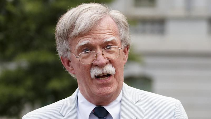 Former US national security adviser John Bolton is refusing to testify in the Trump investigation