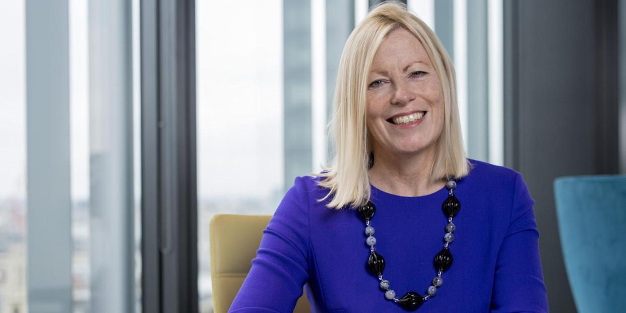 Sharon Thorne, chair of the Deloitte global board of directors