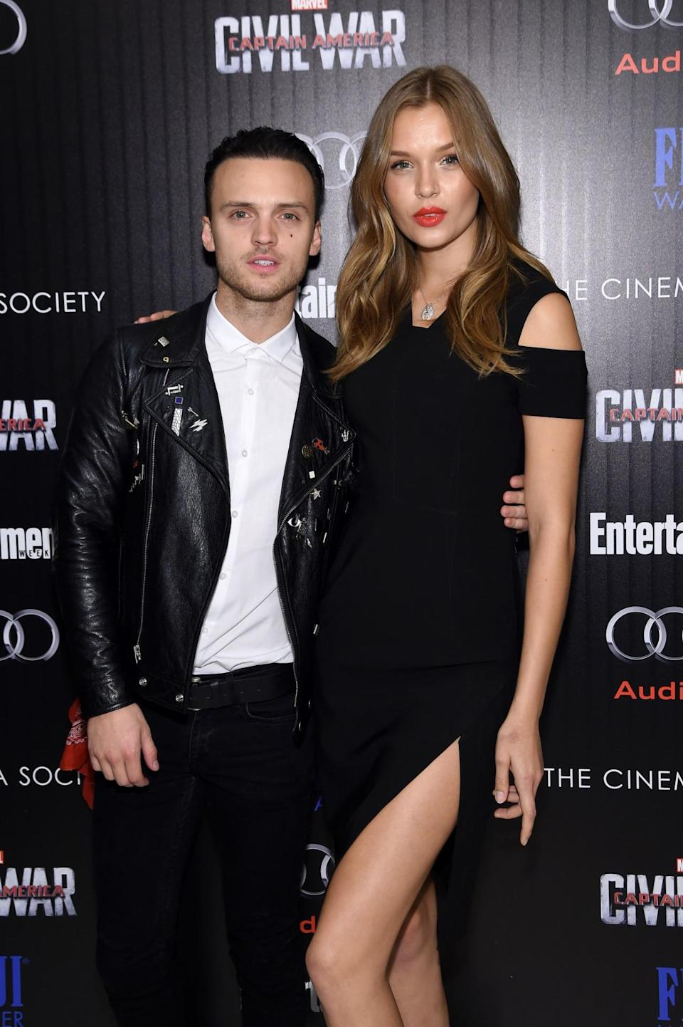 <p>Josephine has recently been given her wings, surely making her rocker boyfriend of three years proud. The pair regularly share silly snaps on social media, potentially making them the funnest Victoria's Secret couple going. <i>[Photo: Getty]</i> </p>