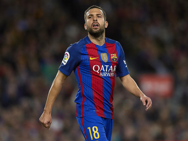 Jordi Alba is available at the right price, according to reports in Spain: Getty