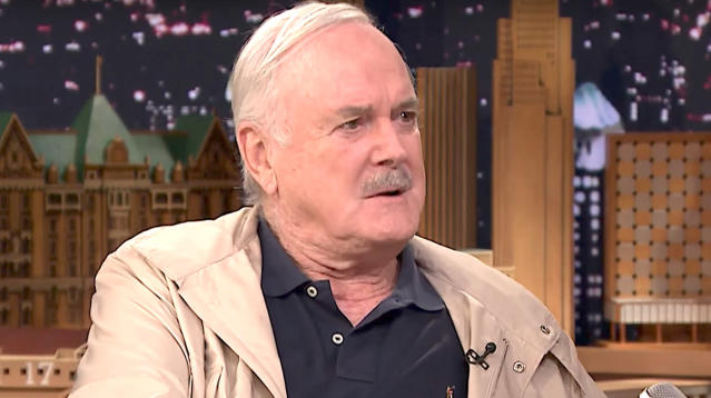"""Monty Python"" star John Cleese is looking on the bright side of death."