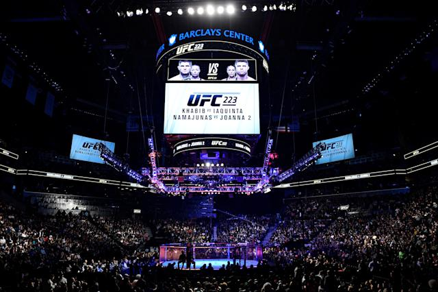 ESPN will pay the UFC $1.5 billion over the next five years for exclusive content. (Getty Images)