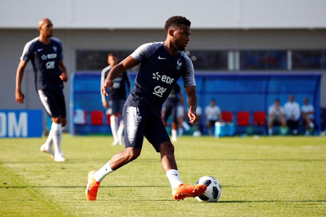 Soccer Football - World Cup - France Training - France Training Camp, Moscow, Russia - June 22, 2018 France's Thomas Lemar during training REUTERS/Axel Schmidt