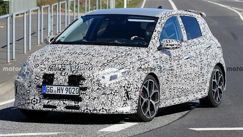 Hyundai i20 N spy photo