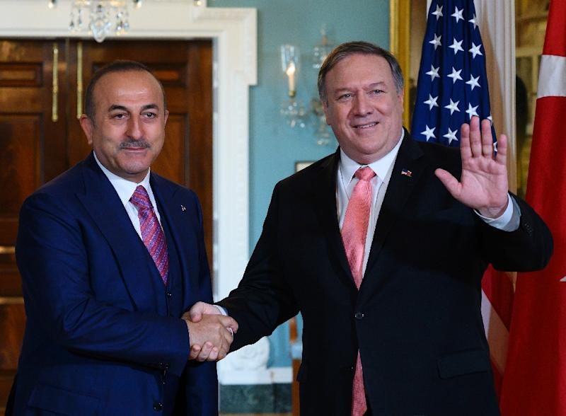 Turkey has disputed the US account of US Secretary of State Mike Pompeo's meeting with Turkish Foreign Minister Mevlut Cavusoglu