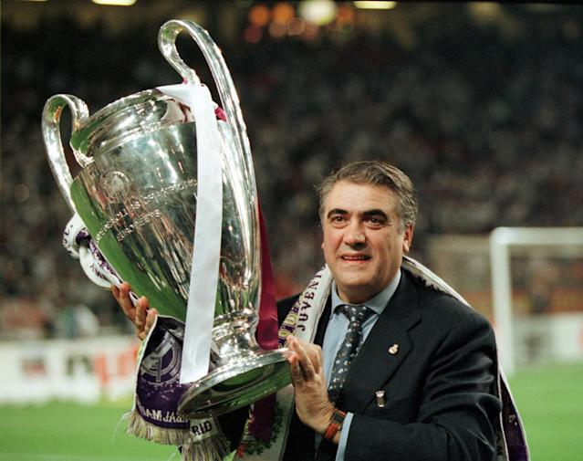 Lorenzo Sanz served as Real Madrid's president from 1995-2000, leading the club to a pair of Champions League titles. (Behrendt/Ullstein Bild/Getty Images)