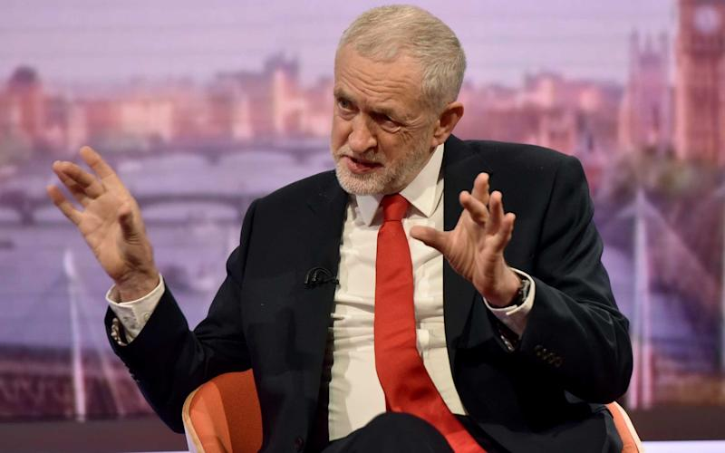 In a BBC interview Jeremy Corbyn called for a new 'war powers act' to limit the authority of the Prime Minister - PA