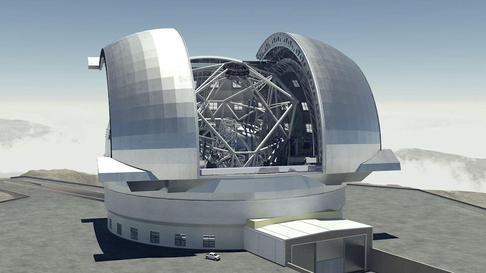 <p>Some of the most interesting space projects are still happening right here on Earth. When completed at its location in Chile, the ETL will be the largest telescope in the world, able to gather 13 times more light than today's most powerful space-gazing telescopes. </p>