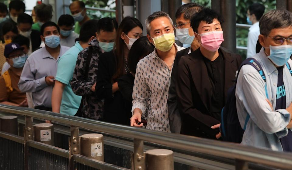 Hong Kong has been contending with a worrying trickle of untraceable local infections. Photo: K. Y. Cheng