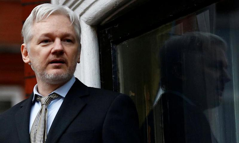 Julian Assange has spent four and a half years in the Ecuadorian embassy.