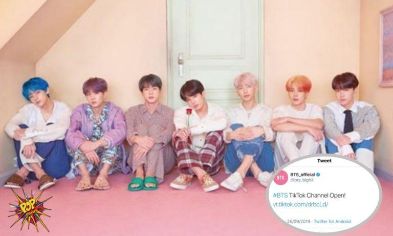 BTS is NOW Officially A Part Of TikTok, And Have More Than A Million Fans Already!-min